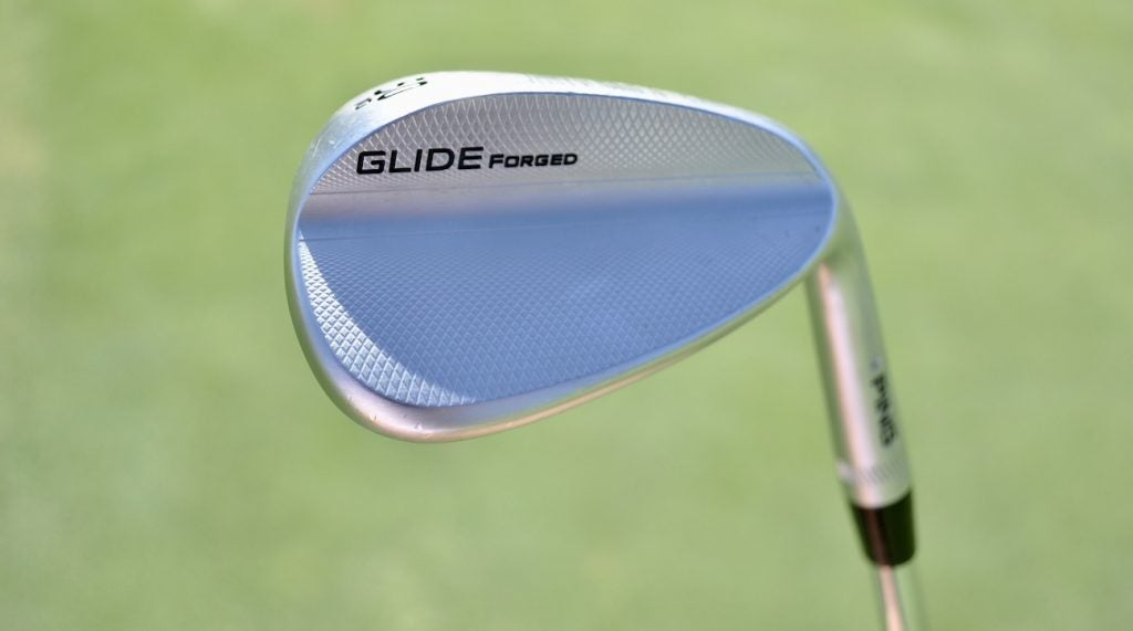 Cameron Champ's 50-degree Ping Glide Forged wedge.