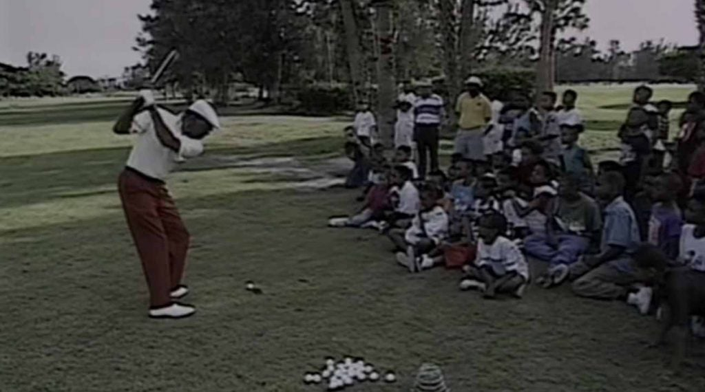 Calvin Peete was the PGA Tour's most consistent driver for years on end.