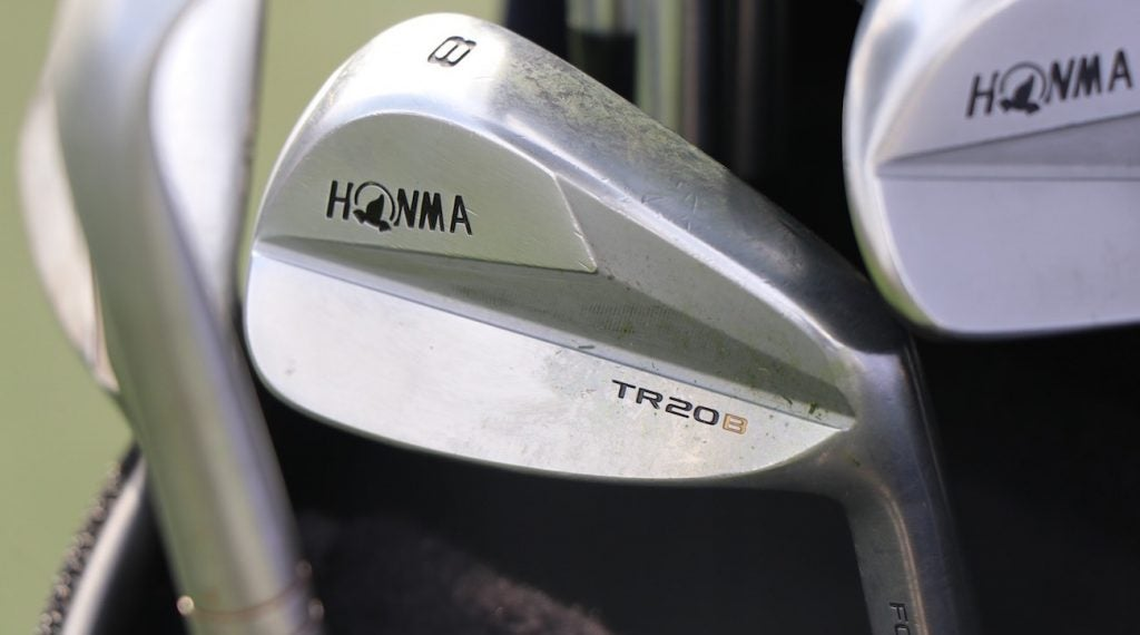 Kevin Chappell recently inserted Honma's TR20B irons.