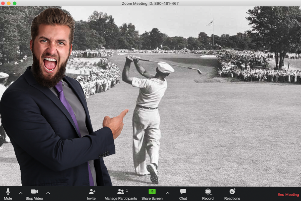 Here Are The 10 Best And Worst Zoom Backgrounds For Golfers