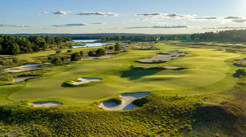 A view of Forest Dunes in Roscommon, Mich.