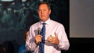 LPGA Tour commissioner Mike Whan