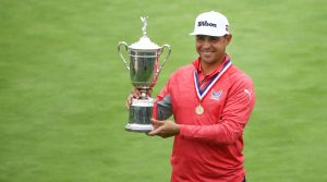 gary woodland u.s. open trophy