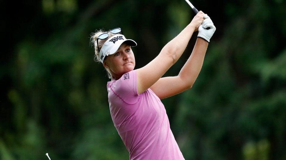 anna nordqvist golf swing