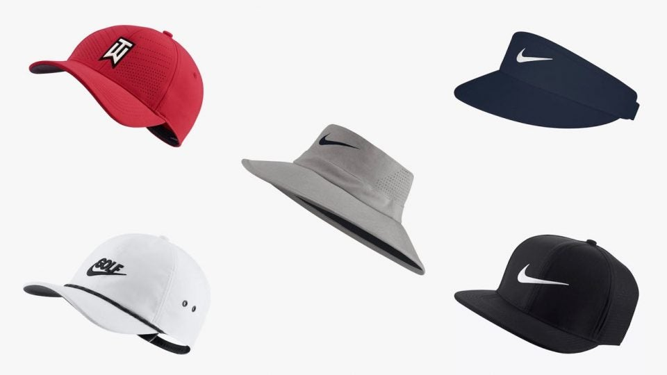 Nike hats on selection