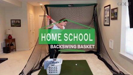 home school backswing