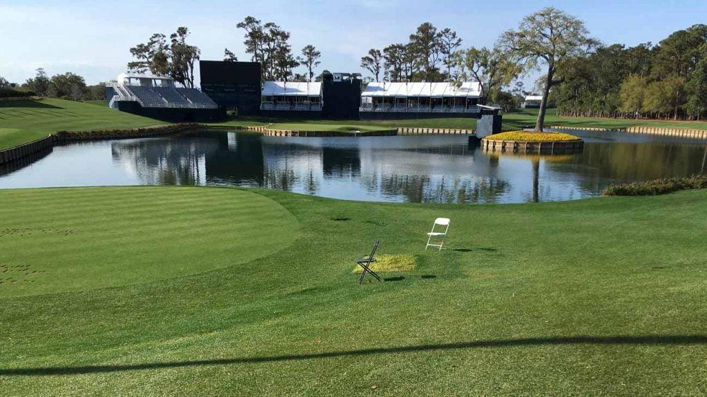 17th hole TPC Sawgrass