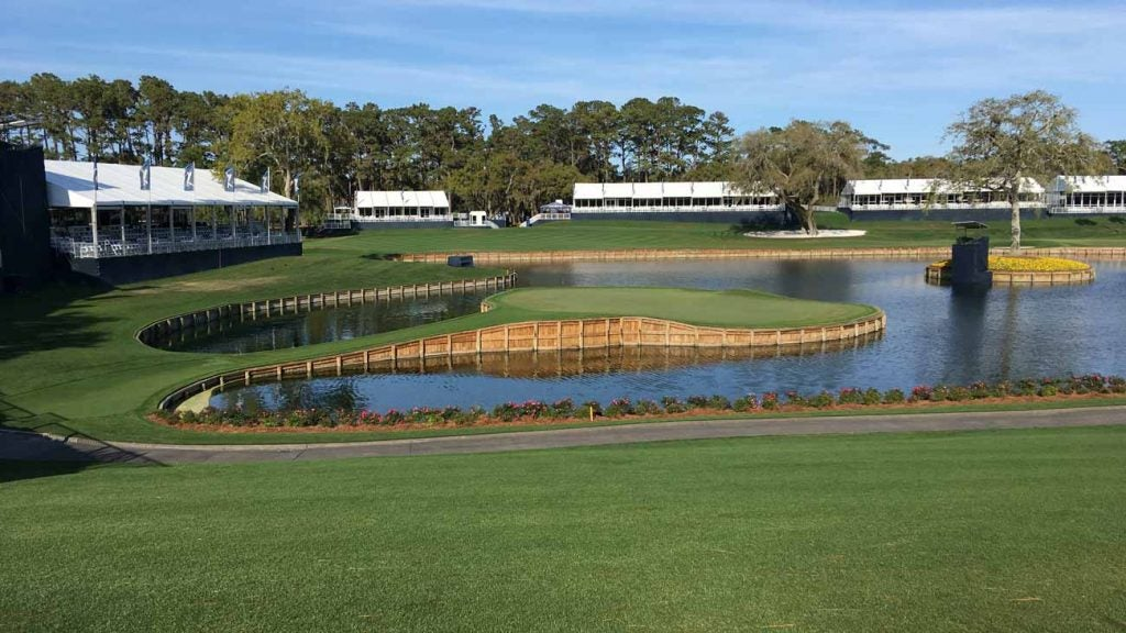 TPC Sawgrass on the Saturday of what should have been the third round of the Players.