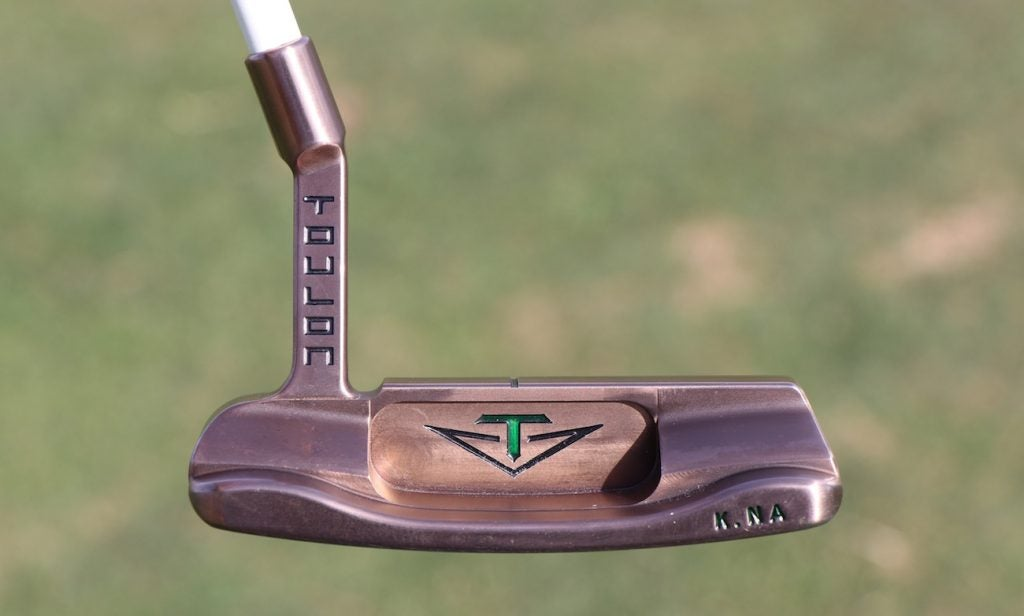 Kevin Na's blade-style Toulon Design putter