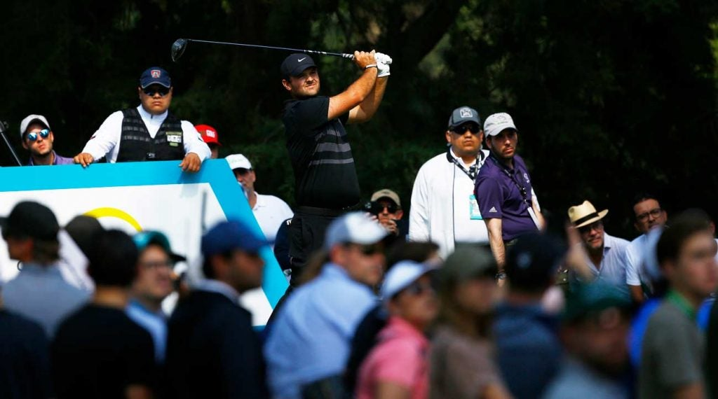 Patrick Reed says he'll have no problem blocking out the noise at this week's Players.