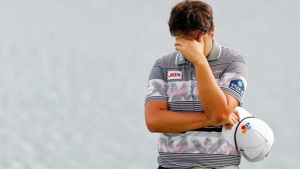Sungjae Im Bay Hill crying