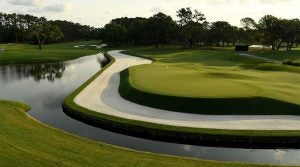 A view of the Stadium Course at TPC Sawgrass.
