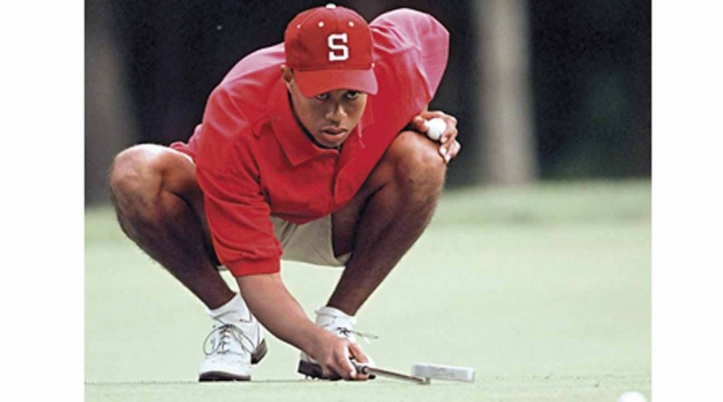 Tiger Woods returned to the Honors Course in 1996 and won the NCAA title.