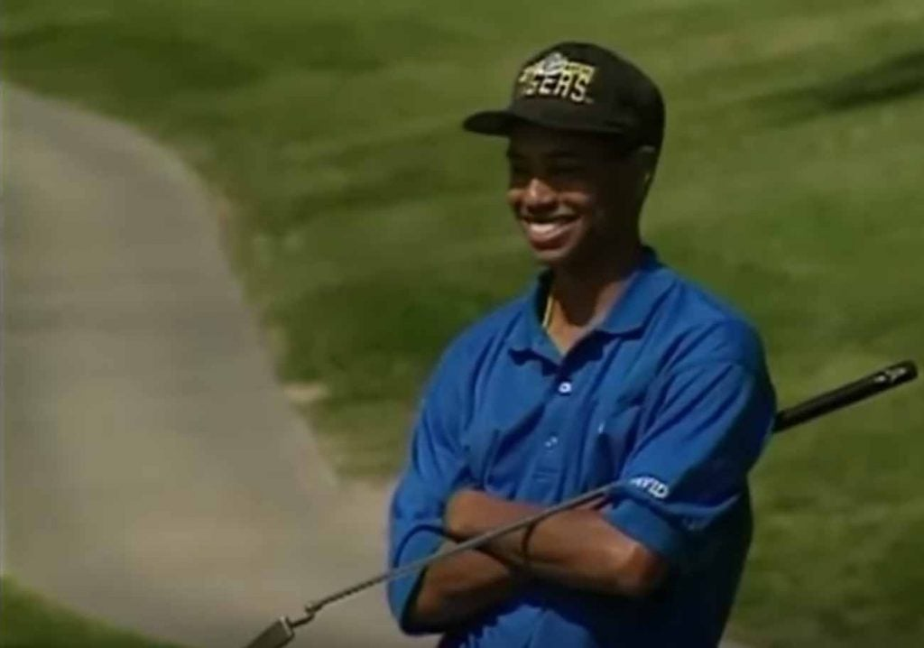 Tiger Woods' snapback collection continues to grow.