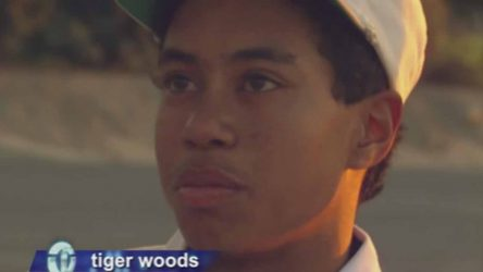 Tiger Woods gave a thoughtful, insightful look at the world through his 14-year-old eyes.