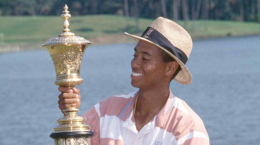 Tiger Woods a remporté l'amateur américain de 1994 au TPC Sawgrass.