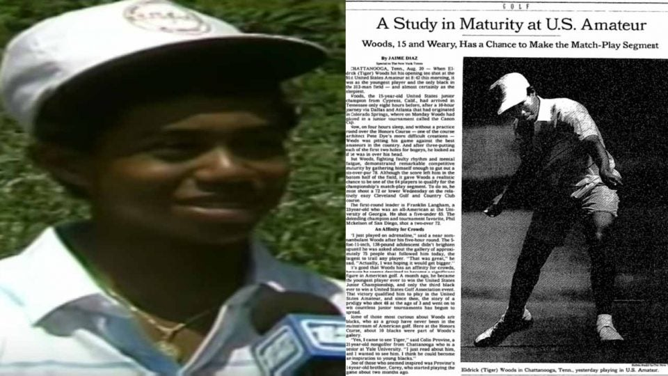 The New York Times followed Woods to Chattanooga in 1991.