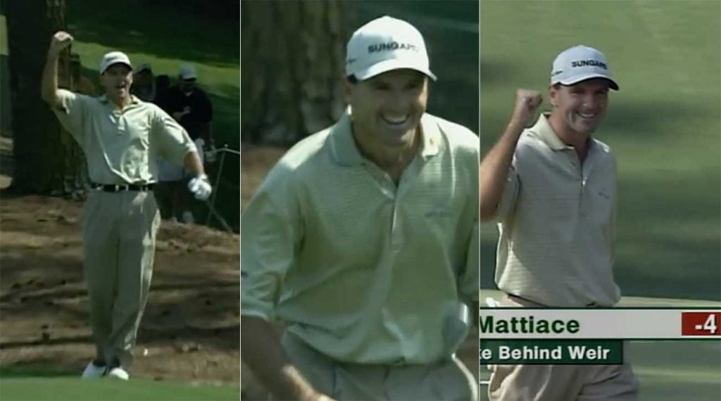 Len Mattiace had no idea how real his Masters Sunday was about to get.