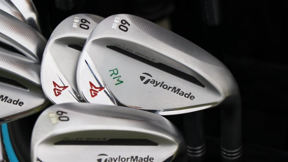 rory mcilroy taylormade wedges