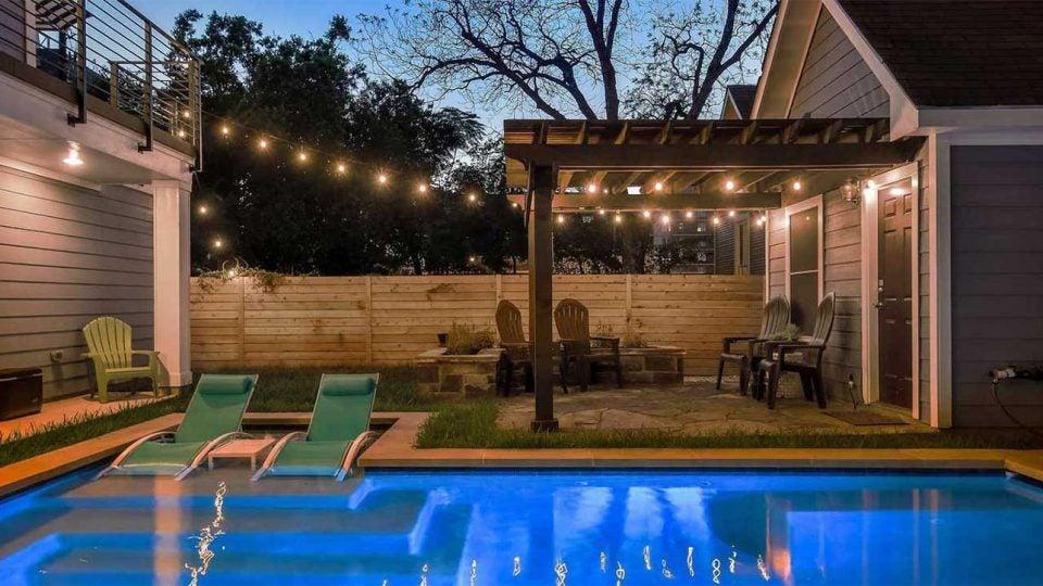Austin Texas rental home.