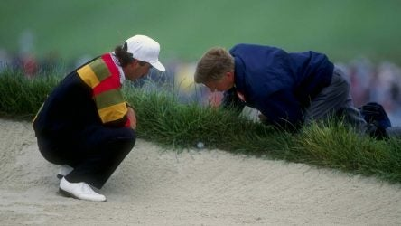 impossible lie in the bunker