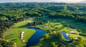 The Donald Ross Memorial course at Boyne Highlands in Michigan.