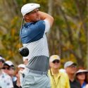 Bryson DeChambeau tees off during the opening round of the Arnold Palmer Invitational on Thursday.
