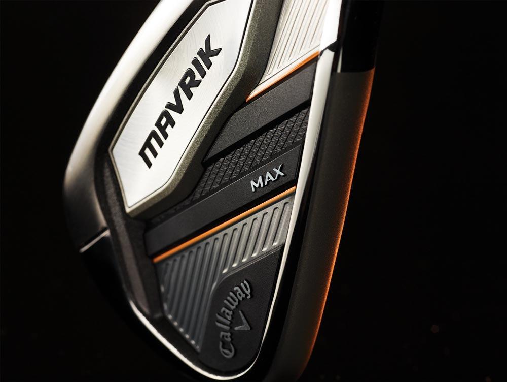 A closer view of the Callaway Mavrik Max iron.