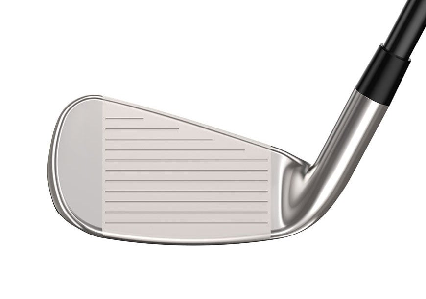 The face of the Cleveland Launcher HB Turbo iron.