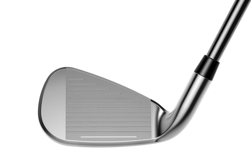 The face of the Cobra F-Max Airspeed iron.