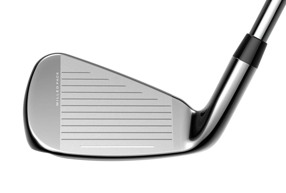 The face of the Cobra King SpeedZone iron.