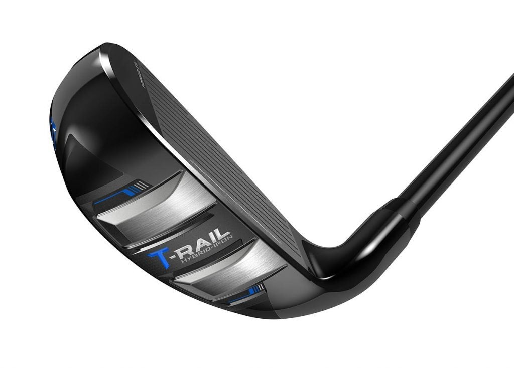 The sole and face of the Cobra T-Rail iron.