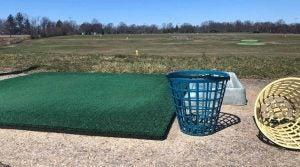 Eisenhower Park golf range buckets