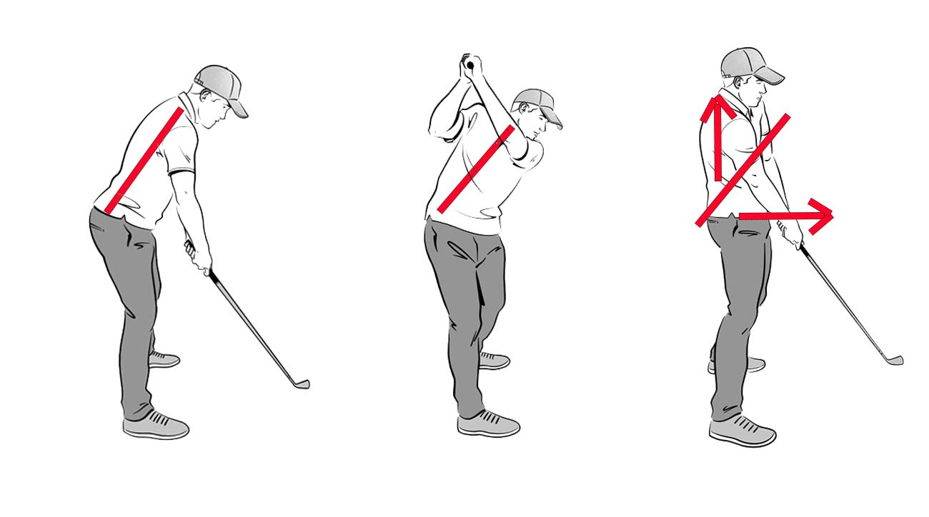 Use this easy drill to prevent early extension in your swing