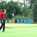 Tiger Woods GOLF FAQs title card
