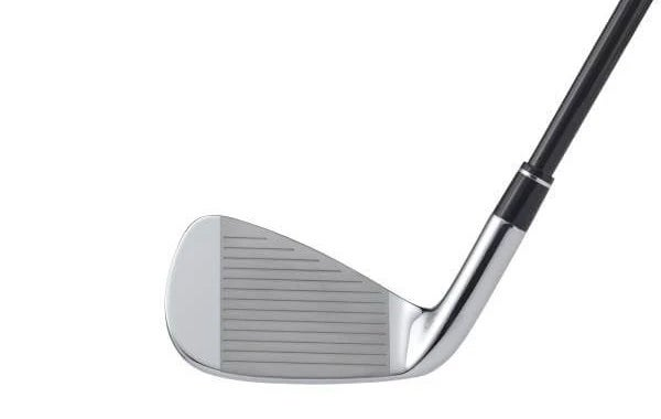 The face of the Honma T//World XP-1 iron.