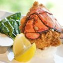 The Yacht Club's chicken fried lobster at Horseshoe Bay Resort.