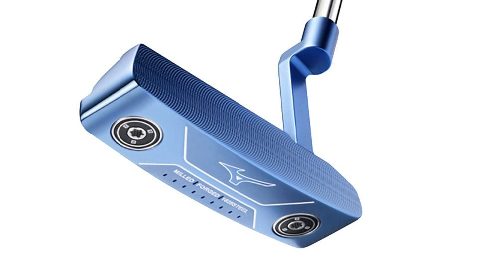 Mizuno M.Craft 2 Blue Ion putter.