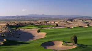 A shot of Sandia Golf Club.