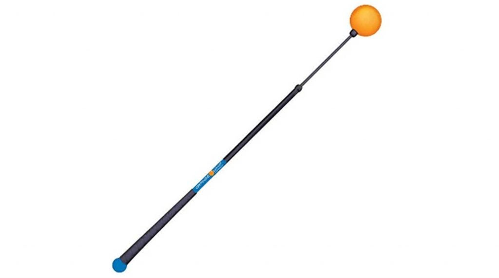 The Orange Whip helps out with tempo, balance, and swing-plane to develop an overall more synchronized golf swing!