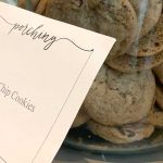 The chocolate chip cookies at Montage Palmetto Bluff.