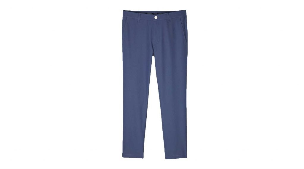 Blue golf pants from Bonobos.