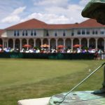 pinehurst statue and clubhouse
