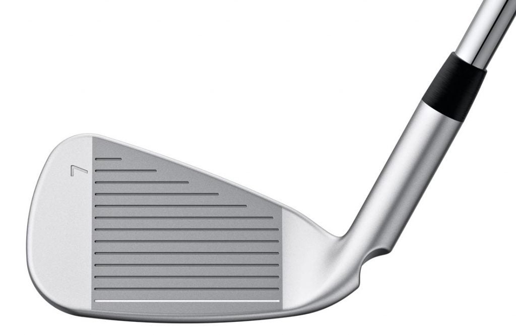 The face of the Ping G410 iron.
