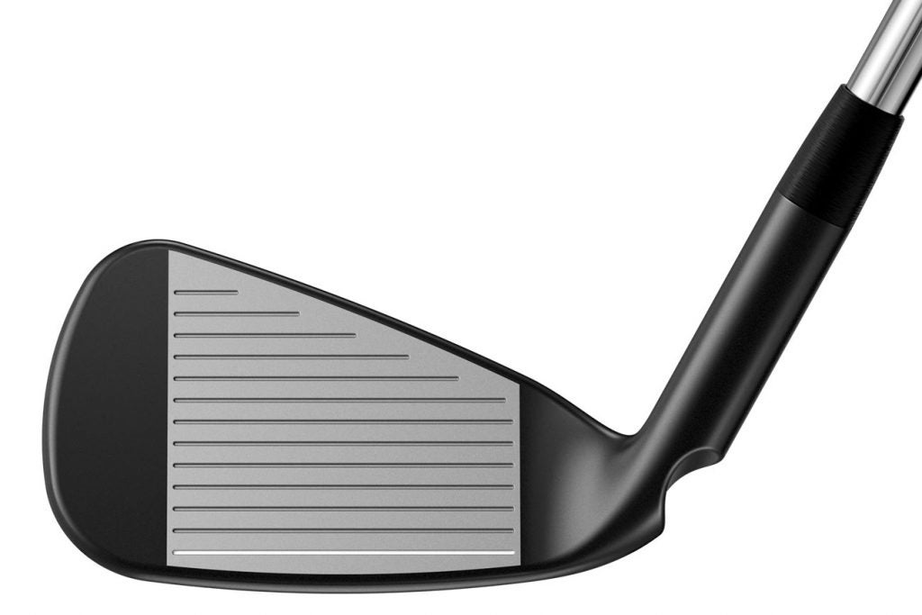 The face of the Ping G710 iron.