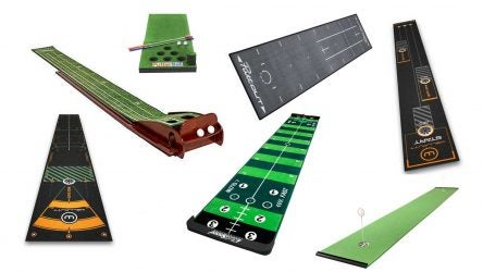 best putting mats