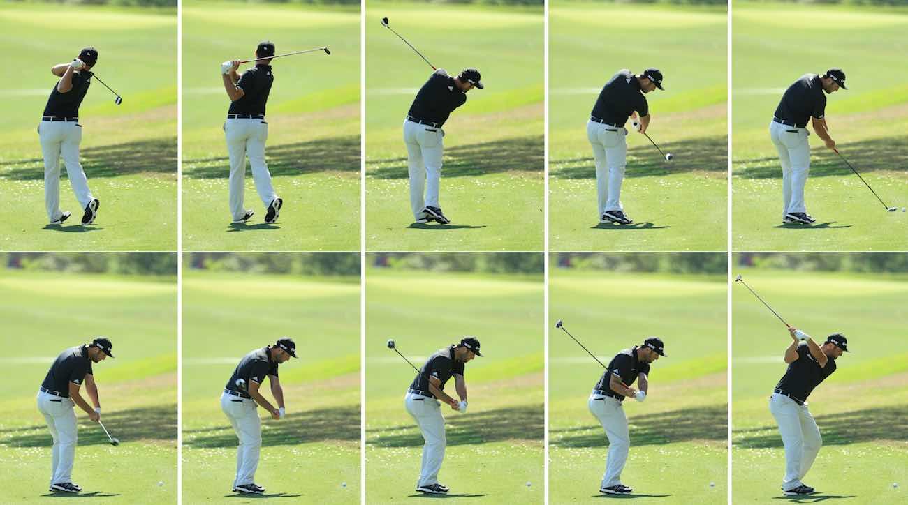 6 steps to mastering Jon Rahm's powerful golf swing