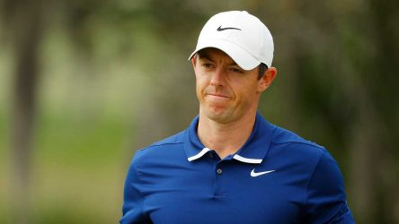 Rory mcIlroy frustrated