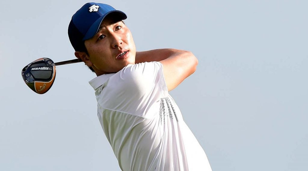 Sangmoon Bae recorded his best finish since 2018 this weekend.