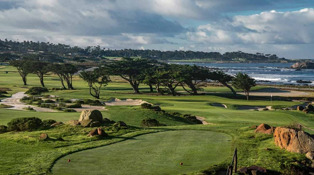 The Shore Course at Monterey Peninsula Country Club, one of Strantz's finest creations.